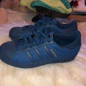 Big Boys Blue original Adidas Sneakers